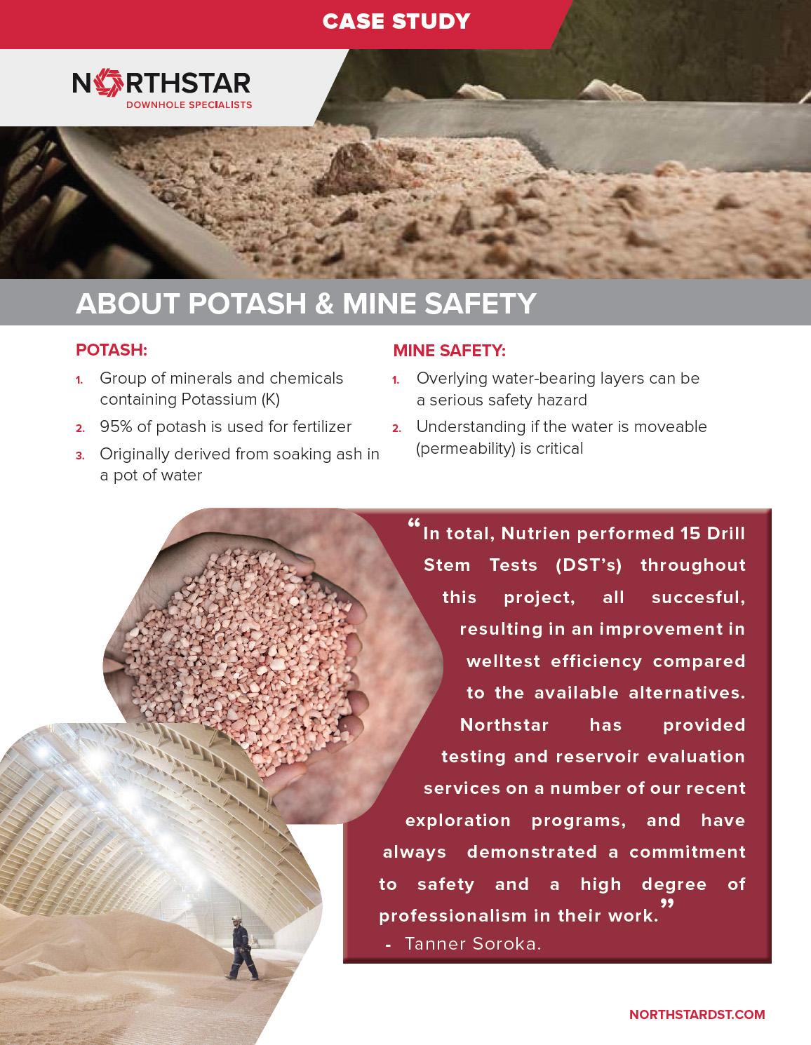 Northstar DST - Downhole Testing Specialists Nutrien