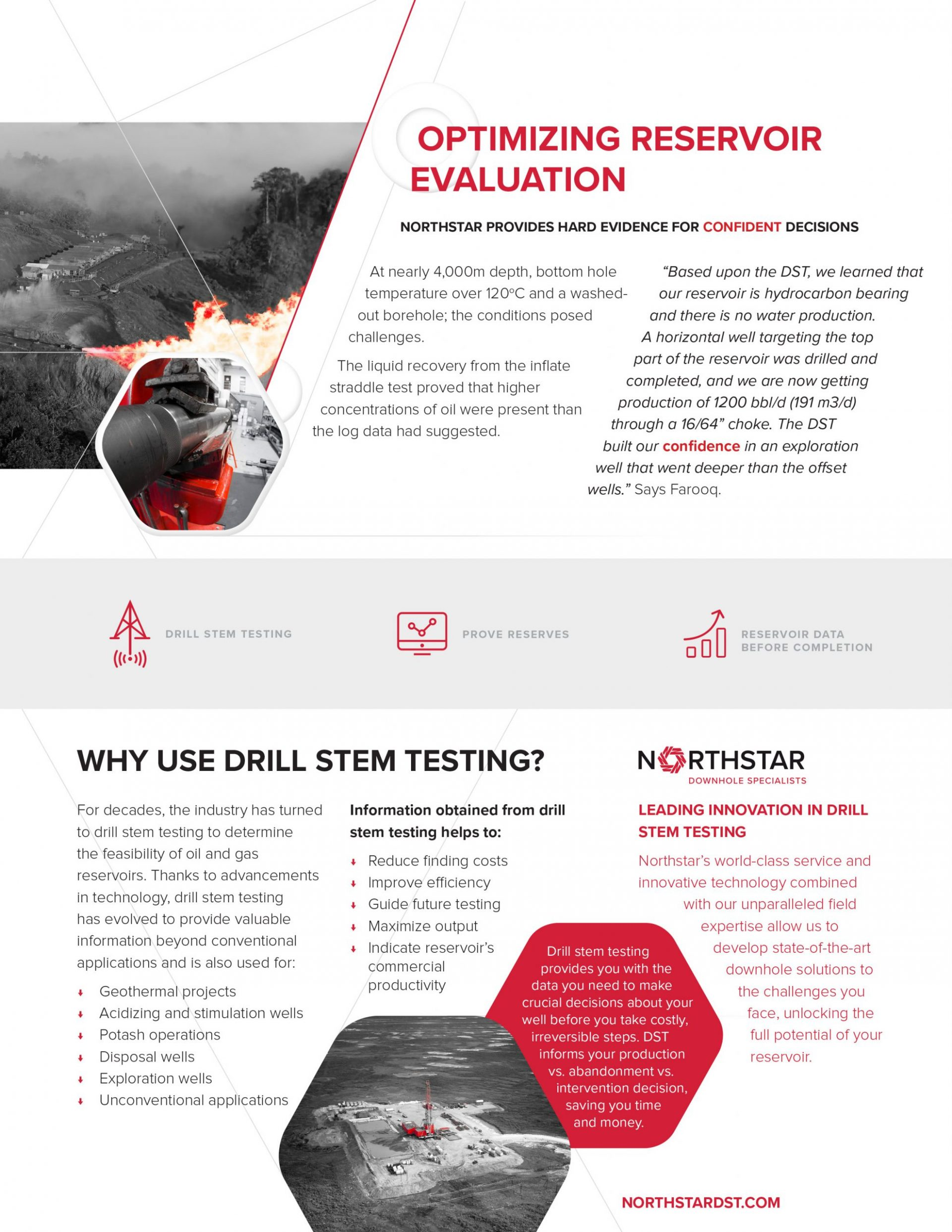 Northstar DST - Downhole Testing Specialists Hydrocarbon