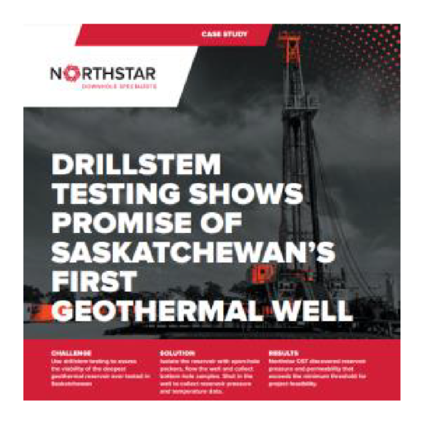 drillsystem testing shows promise of saskatchewan's first geothermal well